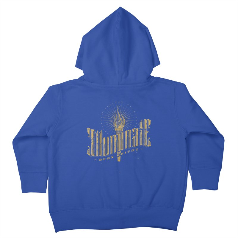 Illuminate Kids Toddler Zip-Up Hoody by tracieching's Artist Shop