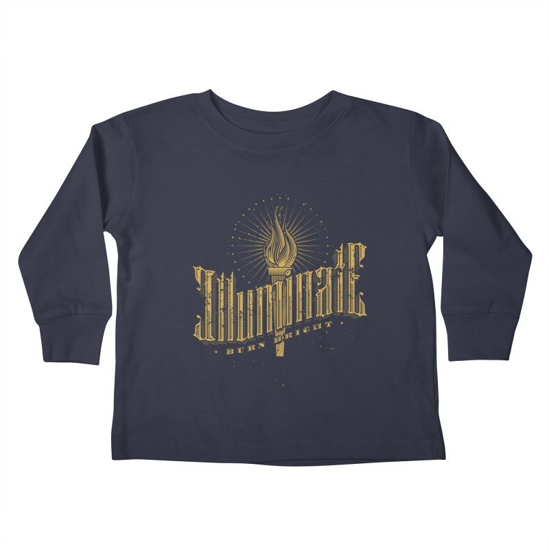 Illuminate Kids Toddler Longsleeve T-Shirt by tracieching's Artist Shop