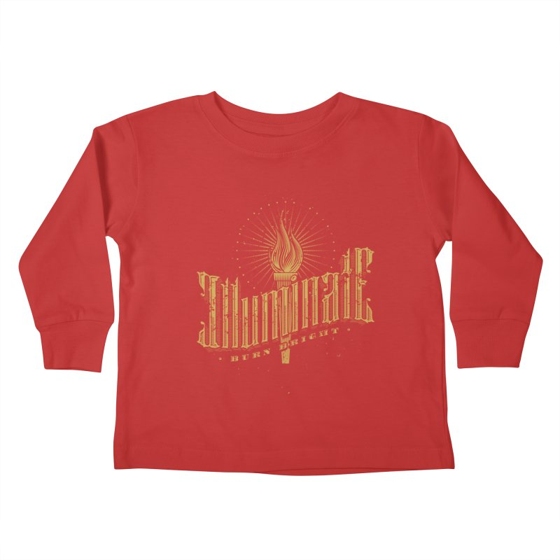 Illuminate Kids Toddler Longsleeve T-Shirt by tracieching's Artist Shop