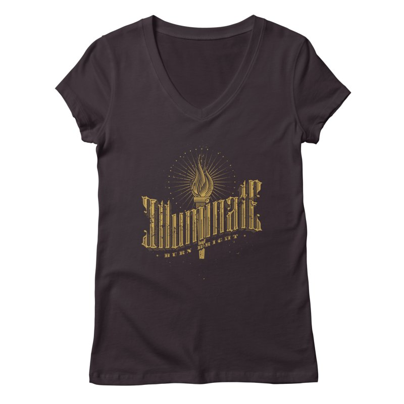 Illuminate Women's V-Neck by tracieching's Artist Shop