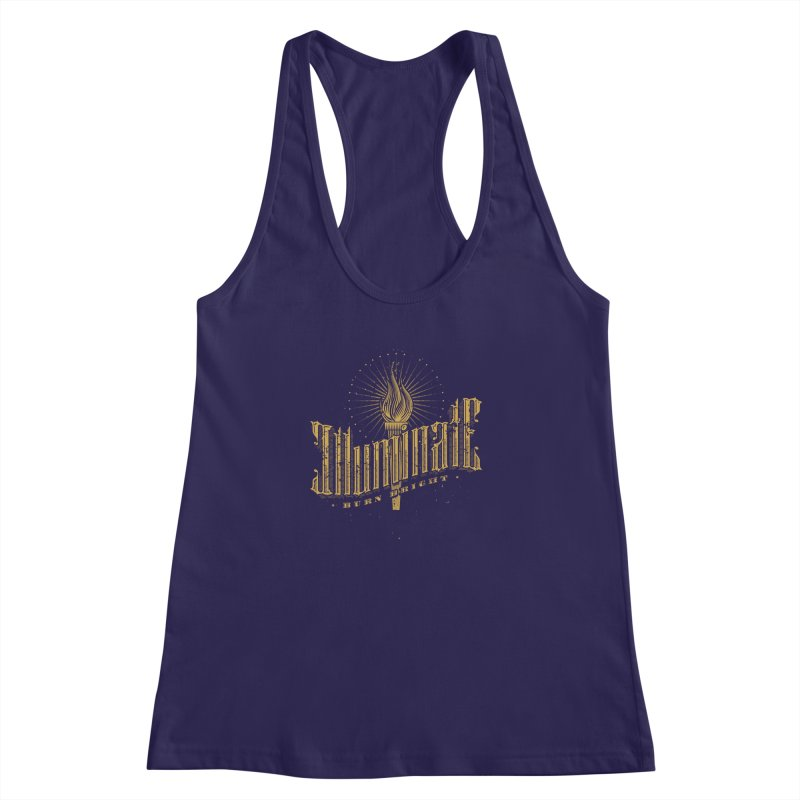 Illuminate Women's Racerback Tank by tracieching's Artist Shop