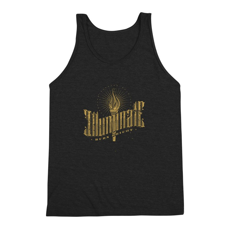 Illuminate Men's Triblend Tank by tracieching's Artist Shop