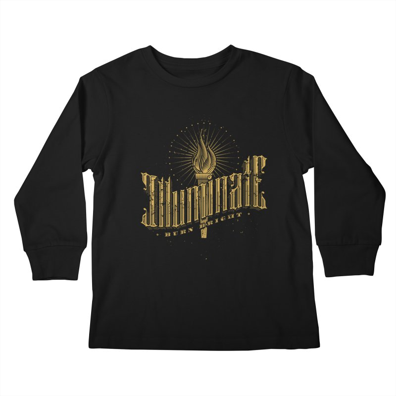 Illuminate Kids Longsleeve T-Shirt by tracieching's Artist Shop