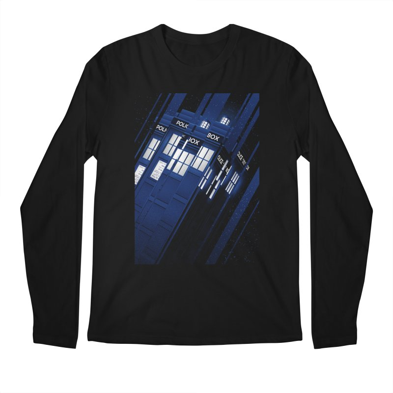 The Police Box Men's Longsleeve T-Shirt by tracieching's Artist Shop