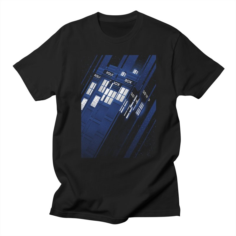 The Police Box Men's T-Shirt by tracieching's Artist Shop