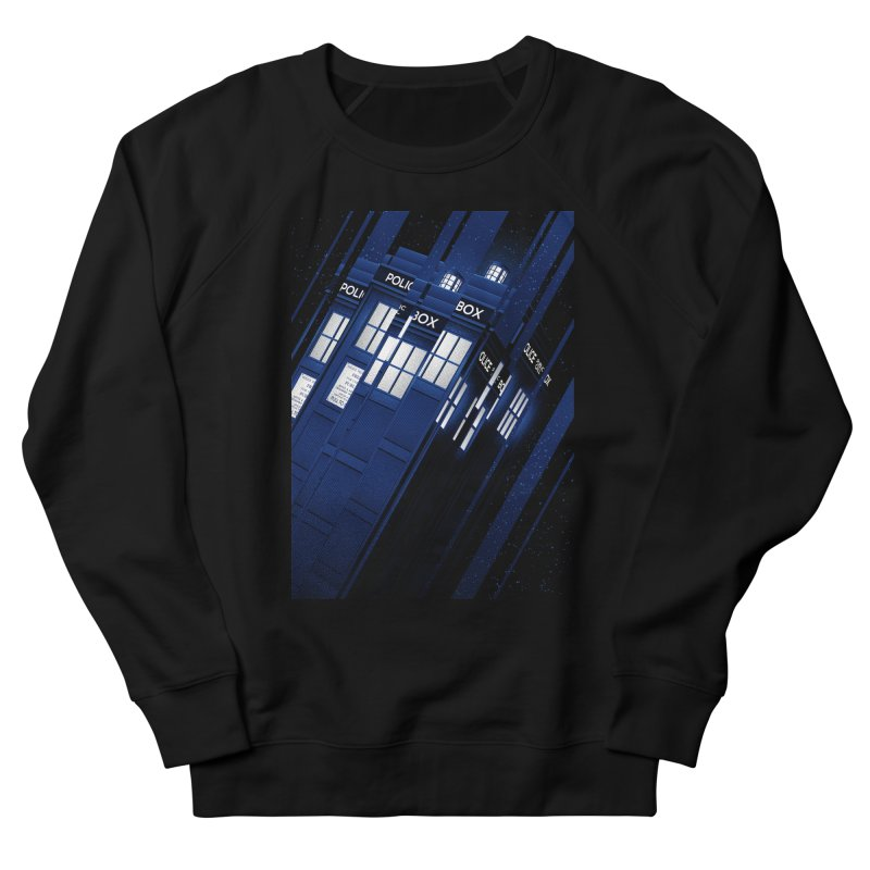 The Police Box Men's Sweatshirt by tracieching's Artist Shop