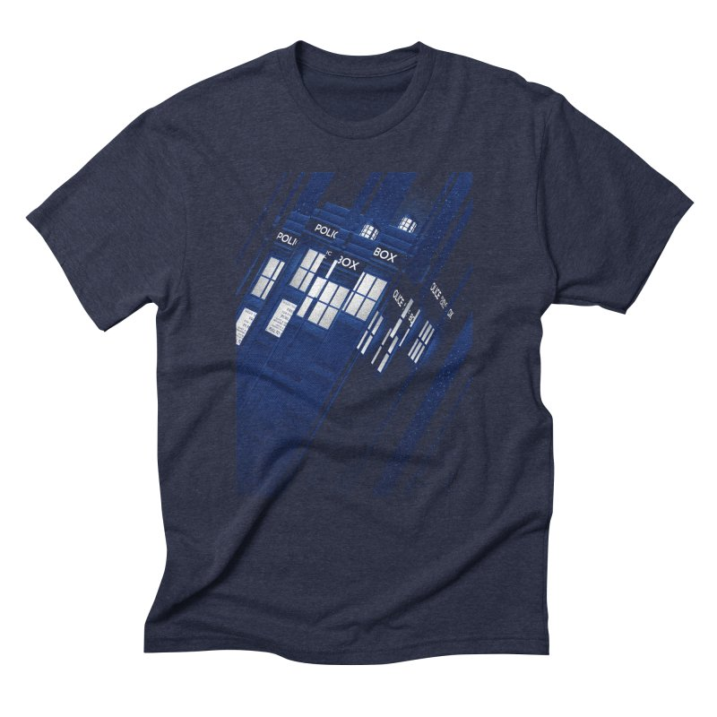 The Police Box Men's Triblend T-Shirt by tracieching's Artist Shop