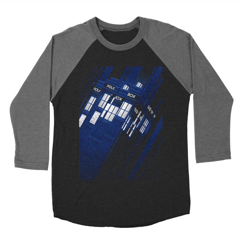 The Police Box Men's Baseball Triblend T-Shirt by tracieching's Artist Shop
