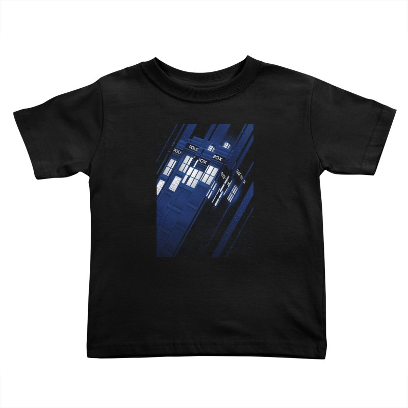 The Police Box Kids Toddler T-Shirt by tracieching's Artist Shop