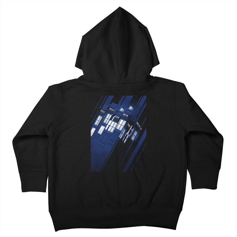 The Police Box Kids Toddler Zip-Up Hoody by tracieching's Artist Shop