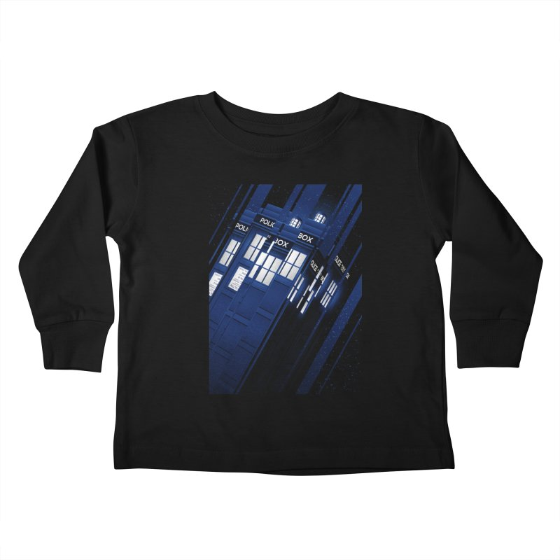 The Police Box Kids Toddler Longsleeve T-Shirt by tracieching's Artist Shop