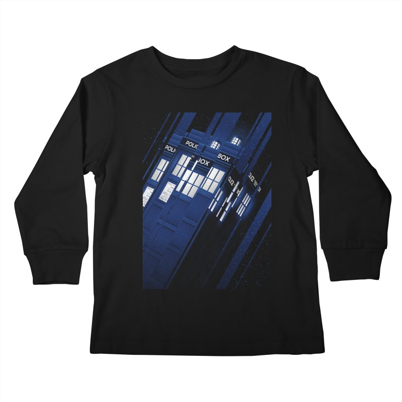 The Police Box Kids Longsleeve T-Shirt by tracieching's Artist Shop