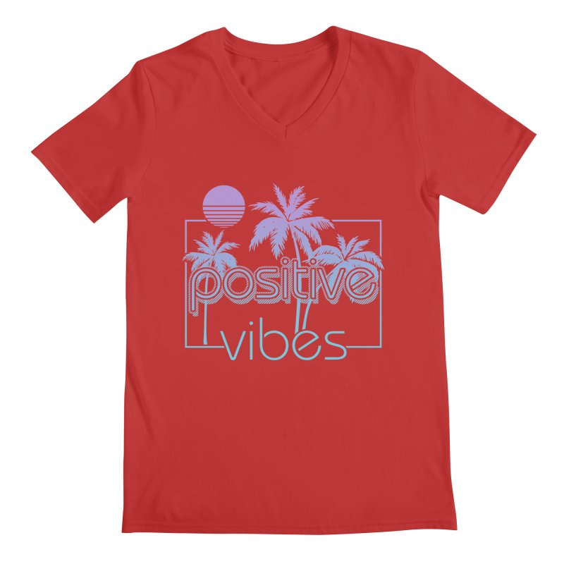 Tropikal Vibes Men's V-Neck by Official Track Junkee Merchandise