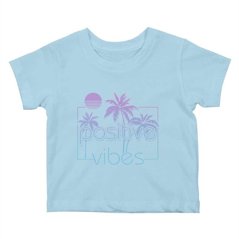 Tropikal Vibes Kids Baby T-Shirt by Official Track Junkee Merchandise