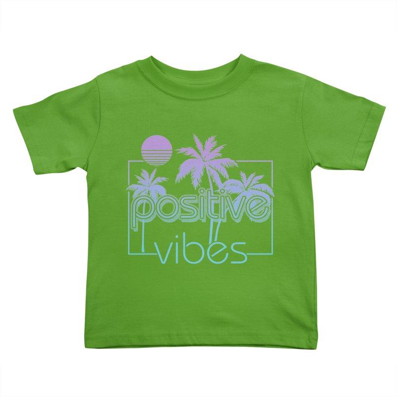 Tropikal Vibes Kids Toddler T-Shirt by Official Track Junkee Merchandise