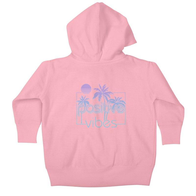 Tropikal Vibes Kids Baby Zip-Up Hoody by Official Track Junkee Merchandise