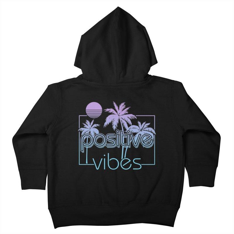 Tropikal Vibes Kids Toddler Zip-Up Hoody by Official Track Junkee Merchandise