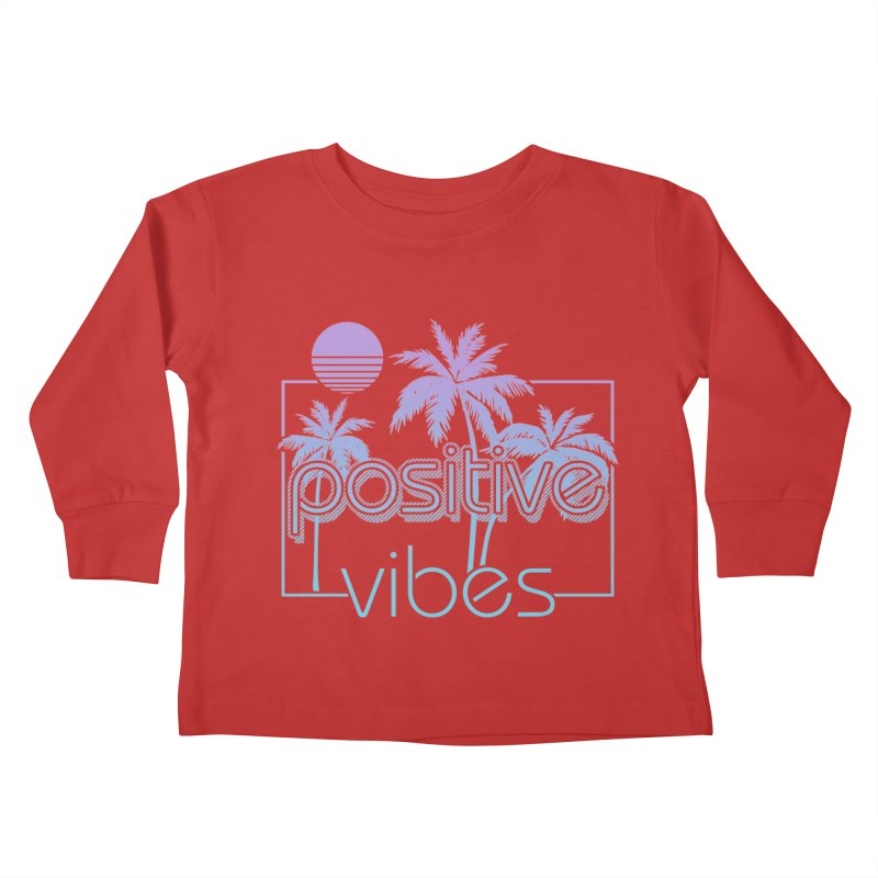Tropikal Vibes Kids Toddler Longsleeve T-Shirt by Official Track Junkee Merchandise