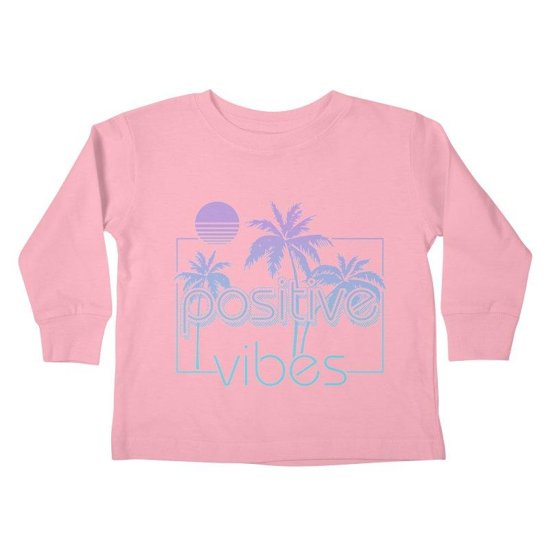 Tropikal Vibes Kids Toddler Longsleeve T-Shirt by Official Track Junkee Merchandise