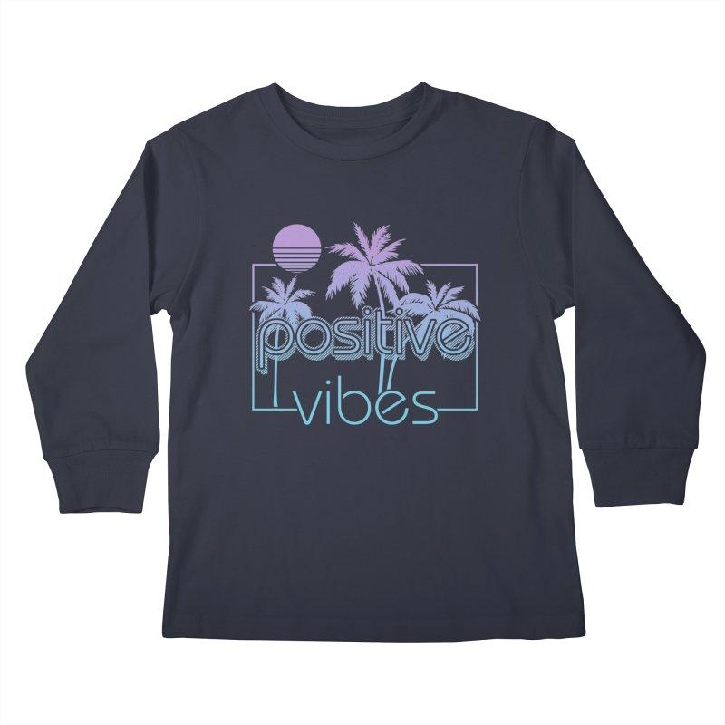 Tropikal Vibes Kids Longsleeve T-Shirt by Official Track Junkee Merchandise