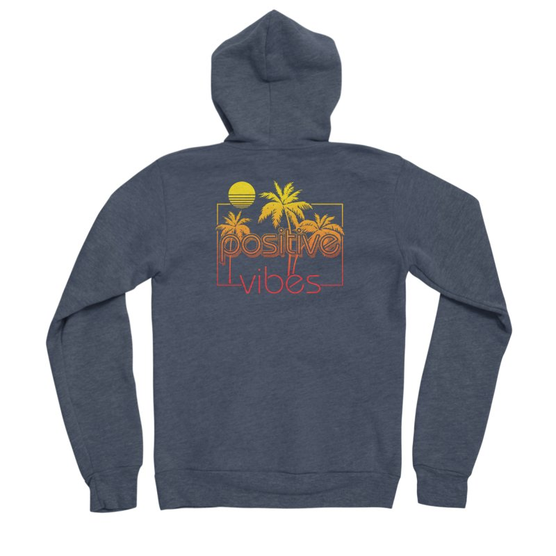 Tropikal Vibes 2 Women's Zip-Up Hoody by Official Track Junkee Merchandise