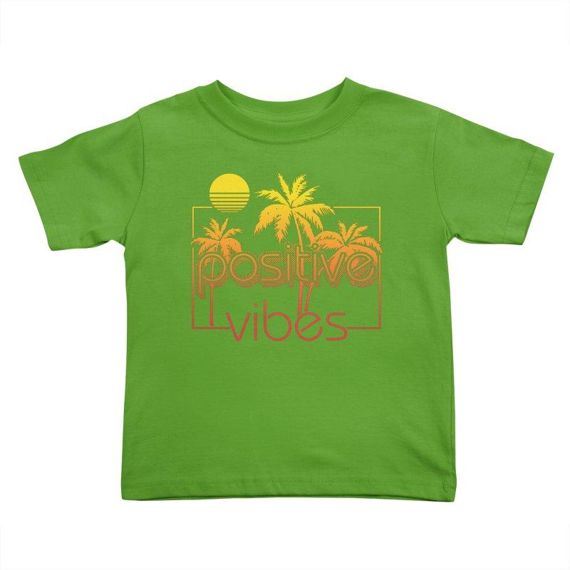 Tropikal Vibes 2 Kids Toddler T-Shirt by Official Track Junkee Merchandise