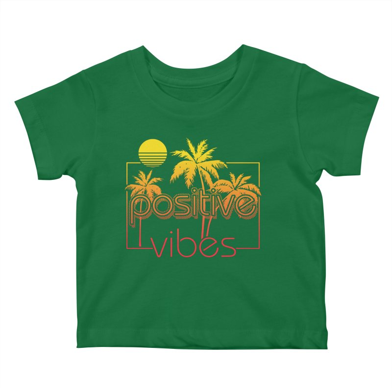 Tropikal Vibes 2 Kids Baby T-Shirt by Official Track Junkee Merchandise