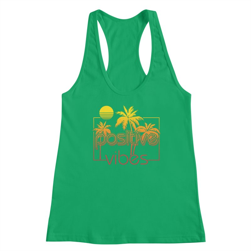 Tropikal Vibes 2 Women's Tank by Official Track Junkee Merchandise