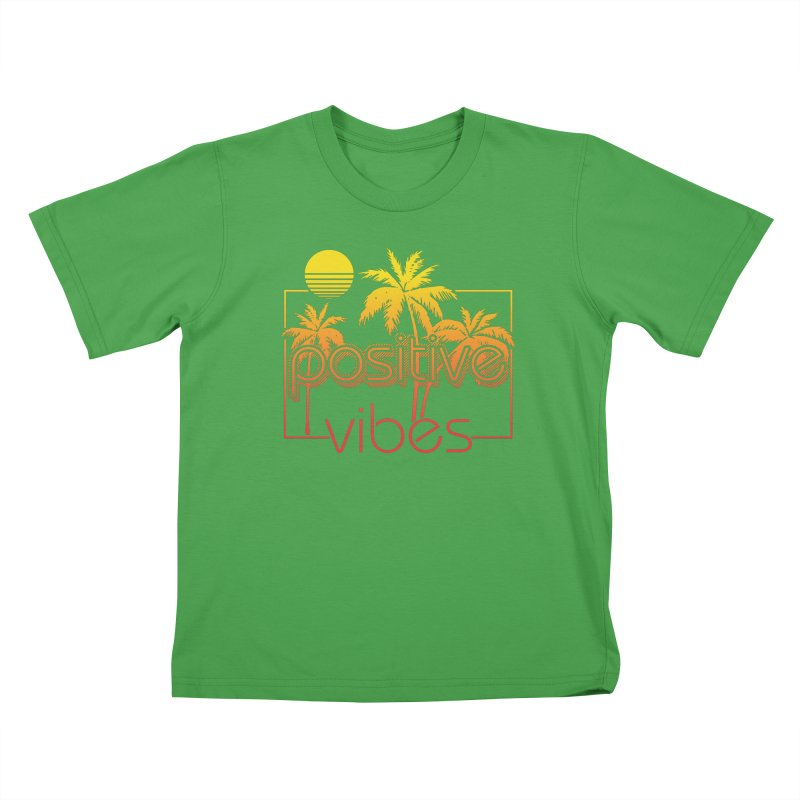 Tropikal Vibes 2 Kids T-Shirt by Official Track Junkee Merchandise