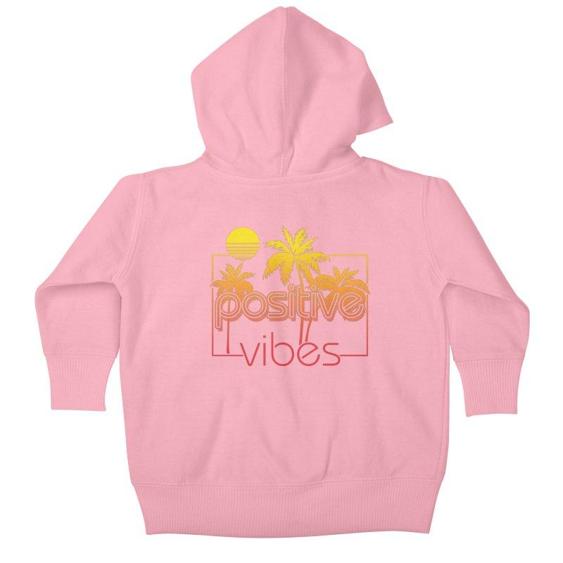 Tropikal Vibes 2 Kids Baby Zip-Up Hoody by Official Track Junkee Merchandise