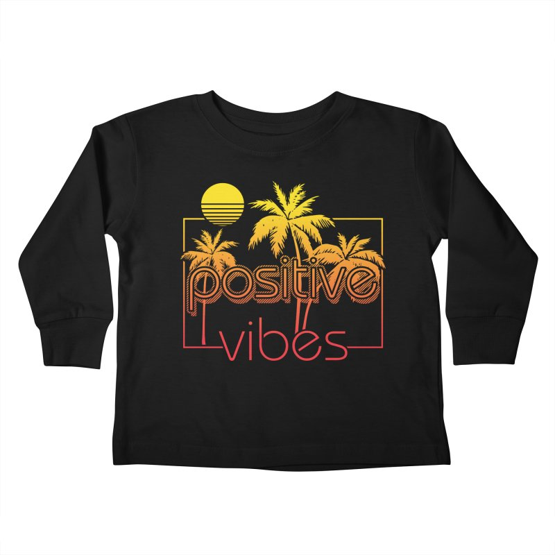 Tropikal Vibes 2 Kids Toddler Longsleeve T-Shirt by Official Track Junkee Merchandise