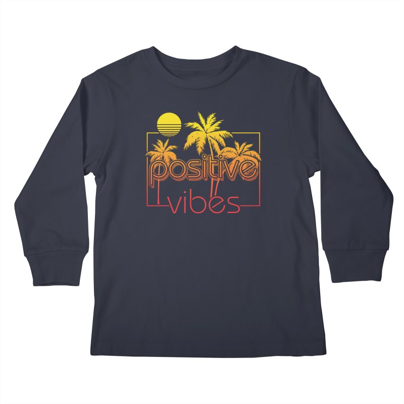Tropikal Vibes 2 Kids Longsleeve T-Shirt by Official Track Junkee Merchandise
