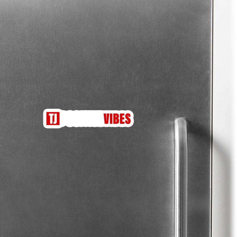 TJ Positive Vibes BOLD (Lite) Accessories Magnet by Official Track Junkee Merchandise