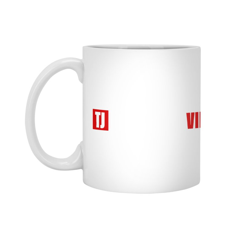TJ Positive Vibes BOLD (Lite) Accessories Mug by Official Track Junkee Merchandise