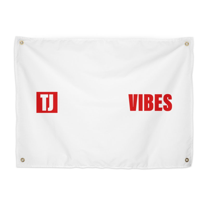 TJ Positive Vibes BOLD (Lite) Home Tapestry by Official Track Junkee Merchandise