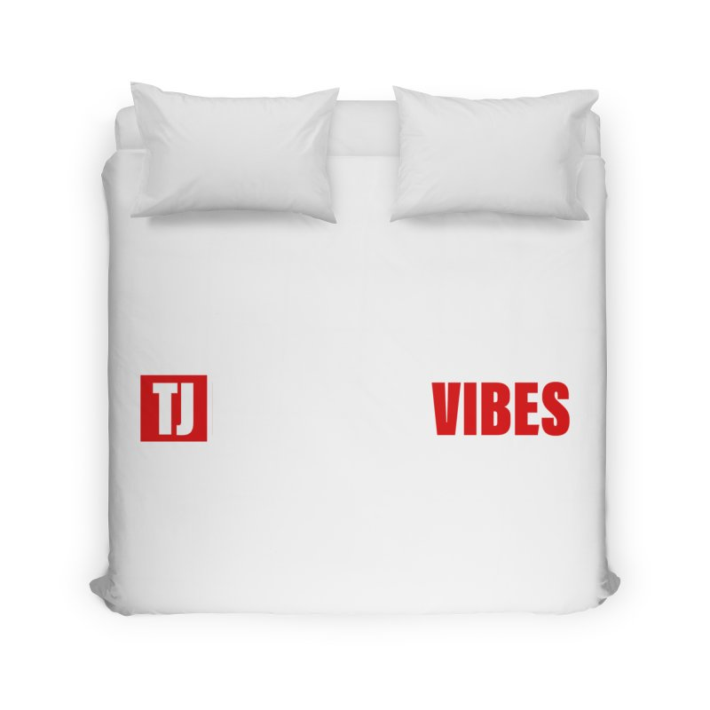 TJ Positive Vibes BOLD (Lite) Home Duvet by Official Track Junkee Merchandise