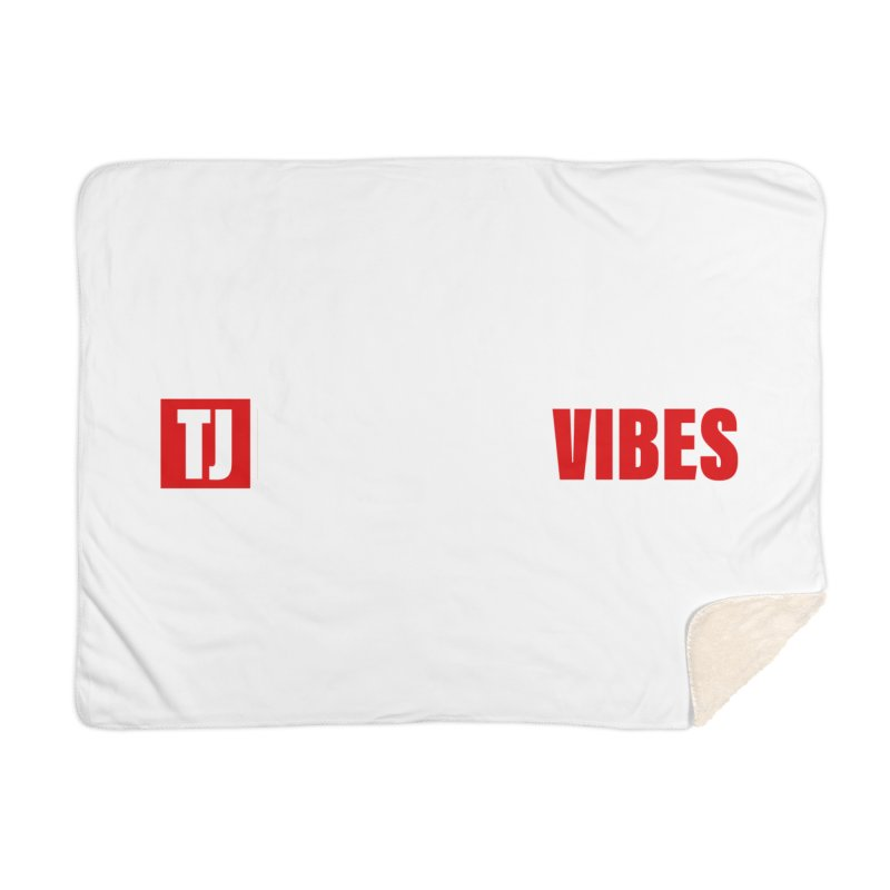 TJ Positive Vibes BOLD (Lite) Home Blanket by Official Track Junkee Merchandise