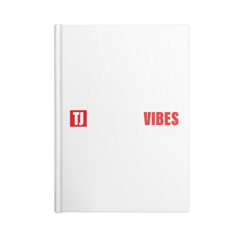 TJ Positive Vibes BOLD (Lite) Accessories Notebook by Official Track Junkee Merchandise