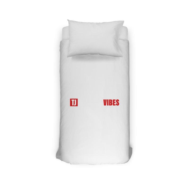 TJ Positive Vibes BOLD (Lite) Home Duvet by Official Track Junkee Merchandise