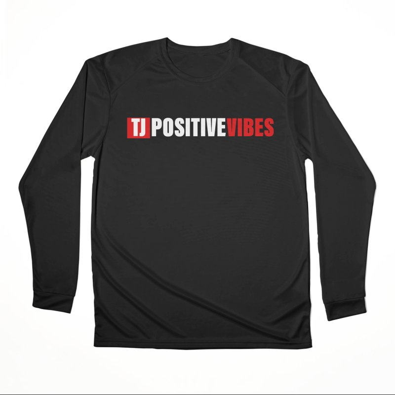 TJ Positive Vibes BOLD (Lite) Women's Longsleeve T-Shirt by Official Track Junkee Merchandise