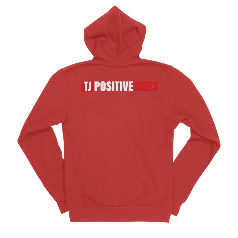 TJ Positive Vibes BOLD (Lite) Women's Zip-Up Hoody by Official Track Junkee Merchandise
