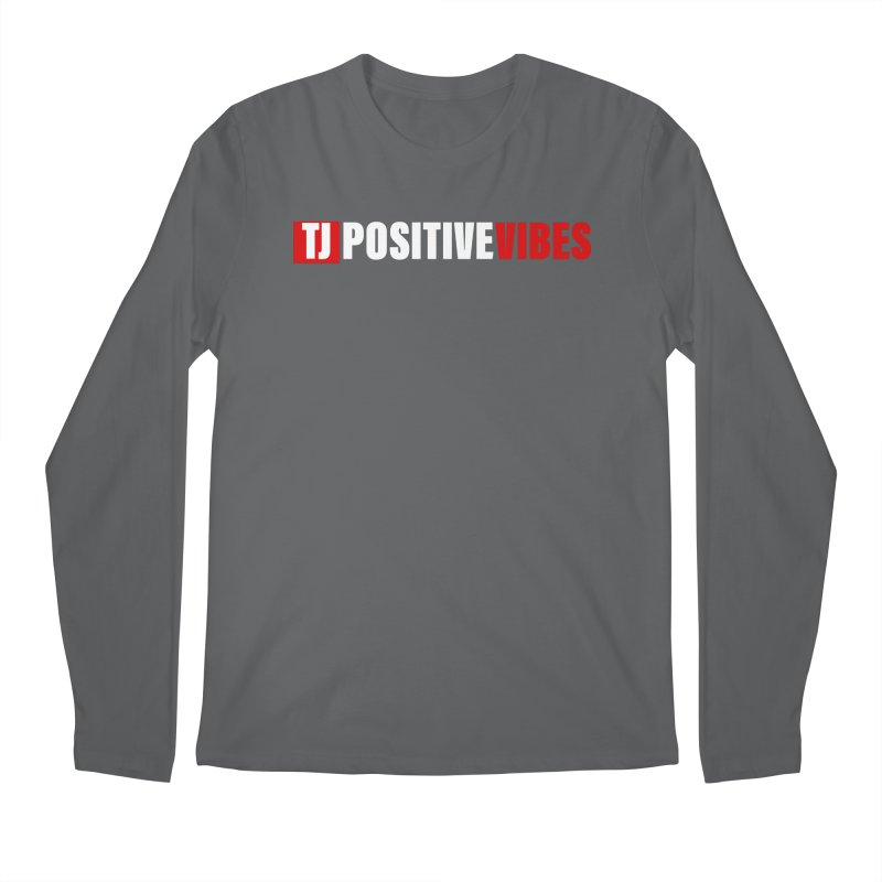 TJ Positive Vibes BOLD (Lite) Men's Longsleeve T-Shirt by Official Track Junkee Merchandise