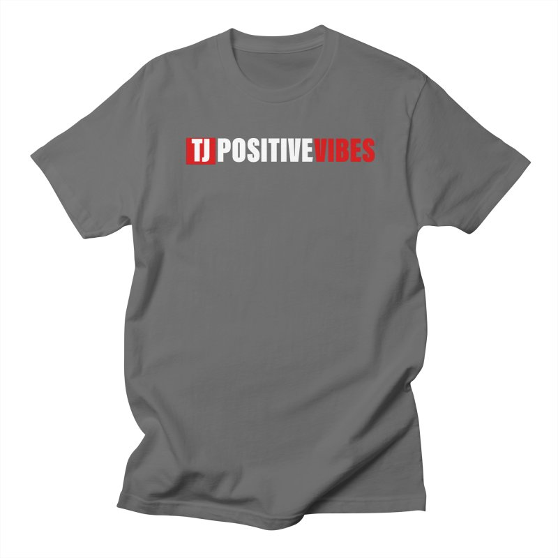 TJ Positive Vibes BOLD (Lite) Men's T-Shirt by Official Track Junkee Merchandise