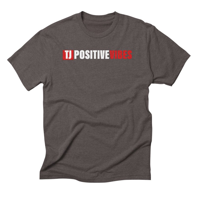 TJ Positive Vibes BOLD (Lite) Men's T-Shirt by Official Track Junkee Merchandise