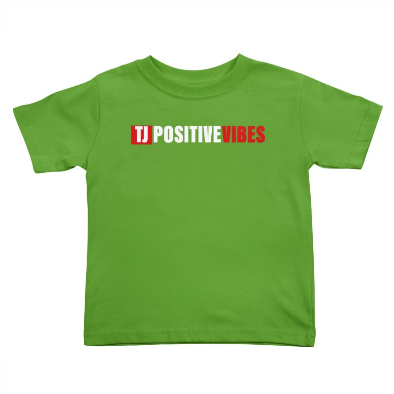 TJ Positive Vibes BOLD (Lite) Kids Toddler T-Shirt by Official Track Junkee Merchandise