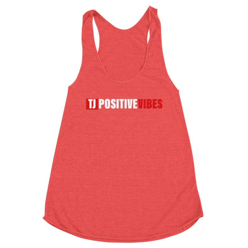 TJ Positive Vibes BOLD (Lite) Women's Tank by Official Track Junkee Merchandise