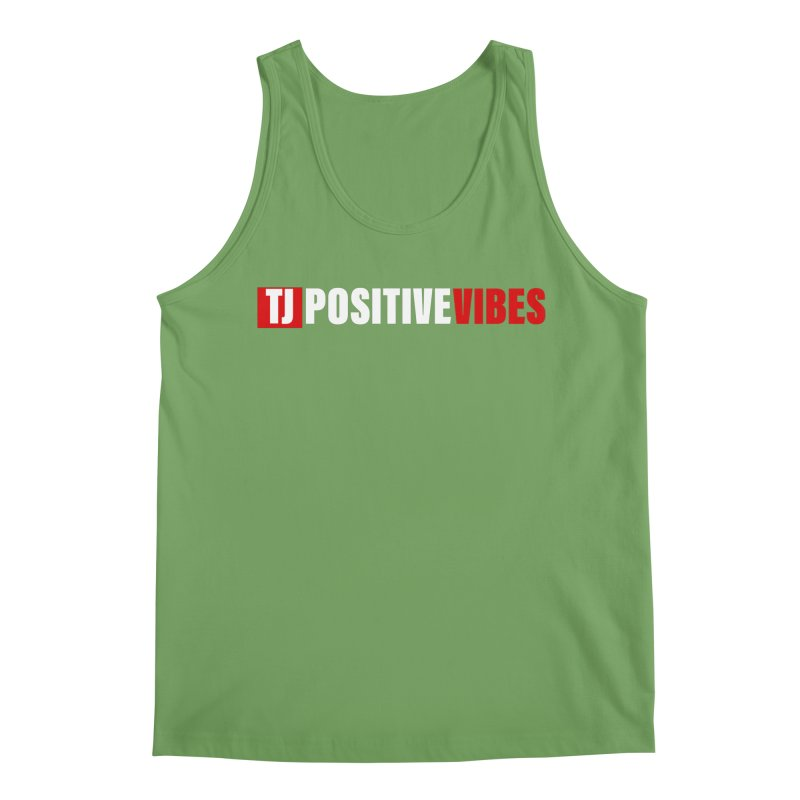 TJ Positive Vibes BOLD (Lite) Men's Tank by Official Track Junkee Merchandise