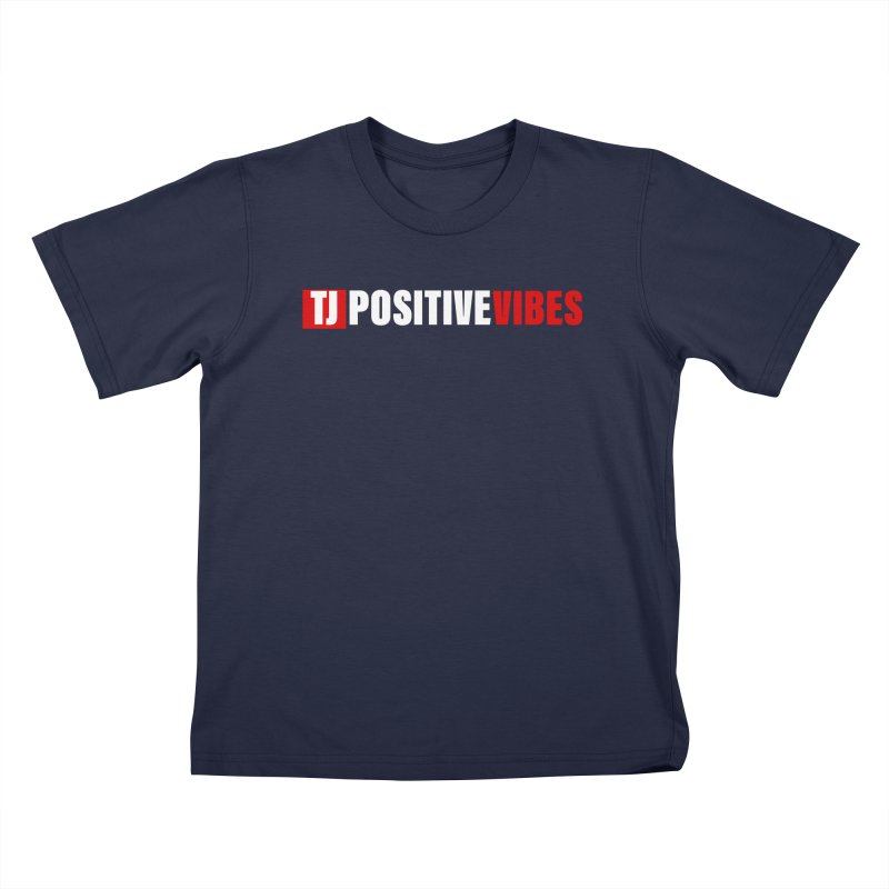 TJ Positive Vibes BOLD (Lite) Kids T-Shirt by Official Track Junkee Merchandise