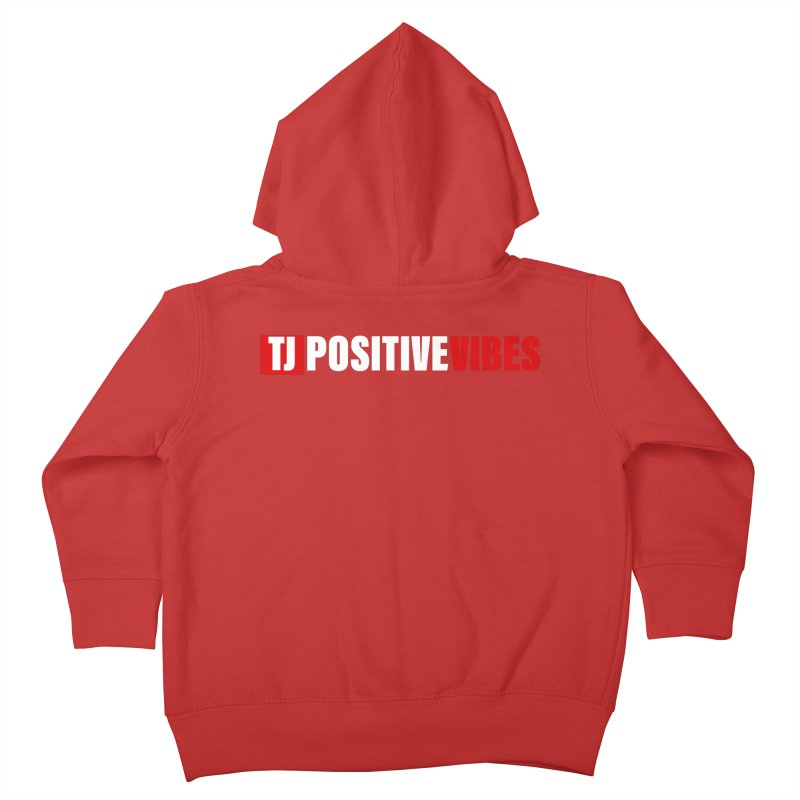 TJ Positive Vibes BOLD (Lite) Kids Toddler Zip-Up Hoody by Official Track Junkee Merchandise