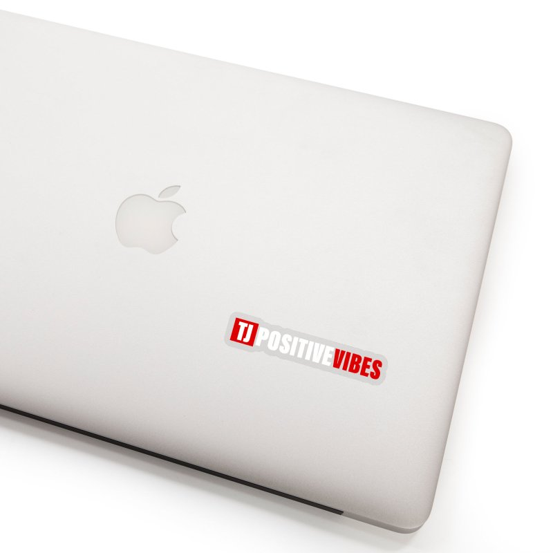 TJ Positive Vibes BOLD (Lite) Accessories Sticker by Official Track Junkee Merchandise